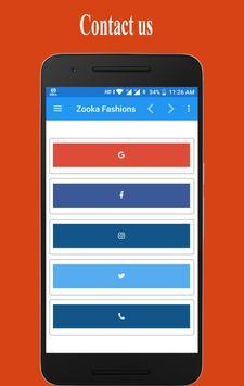 Zooka Fashions screenshot 3