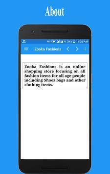 Zooka Fashions screenshot 2
