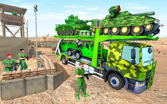 Grand Army Vehicles Transport Truck ảnh chụp màn hình 10