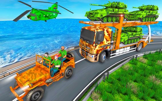 Grand Army Vehicles Transport Truck ảnh chụp màn hình 7
