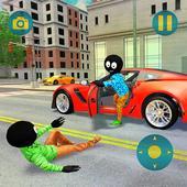 Grand Gangster Stickman Simulator icon