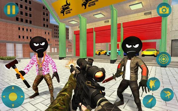 Grand Gangster Stickman Simulator screenshot 13