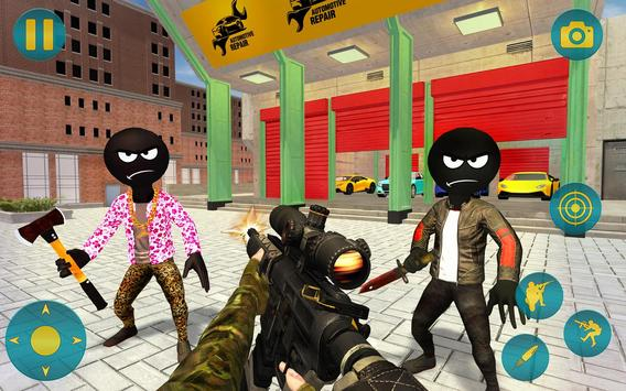 Grand Gangster Stickman Simulator screenshot 2