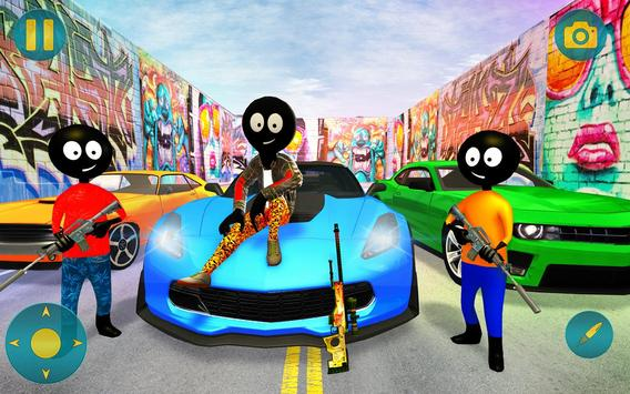 Grand Gangster Stickman Simulator screenshot 11