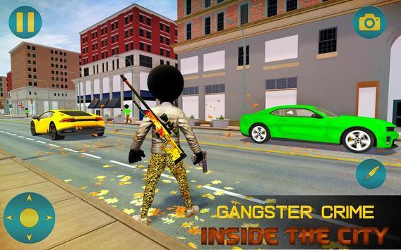 Grand Gangster Stickman Simulator screenshot 1