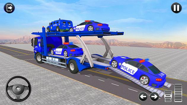 Grand Police Transport Truck
