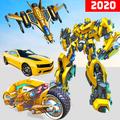 Jet Robot Car Transformation : Robot Car Games