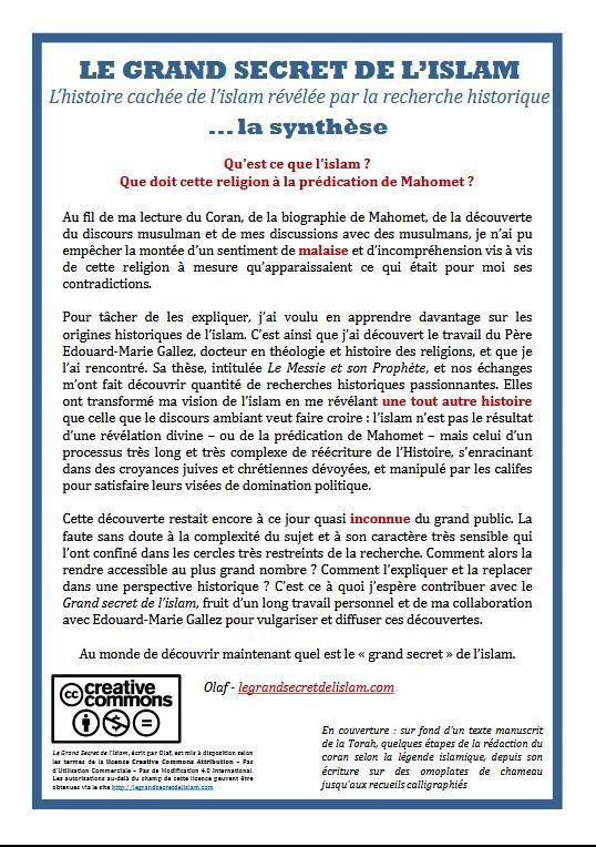 Le Grand Secret De Lislam For Android Apk Download