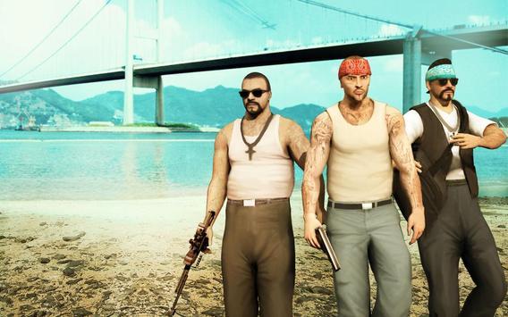 Grand Gangster Miami City Auto Theft ảnh chụp màn hình 1