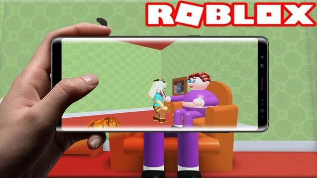 3D Escape Grandma's house horror Obby simulator poster