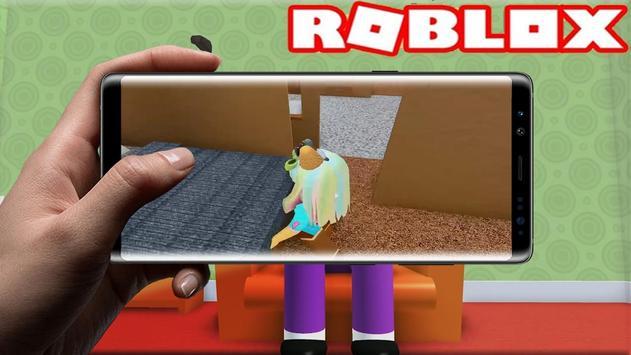 3D Escape Grandma's house horror Obby simulator screenshot 2
