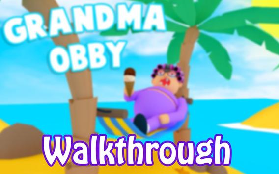 The Secret Grandma's Obby Walkthrough Escape Game poster