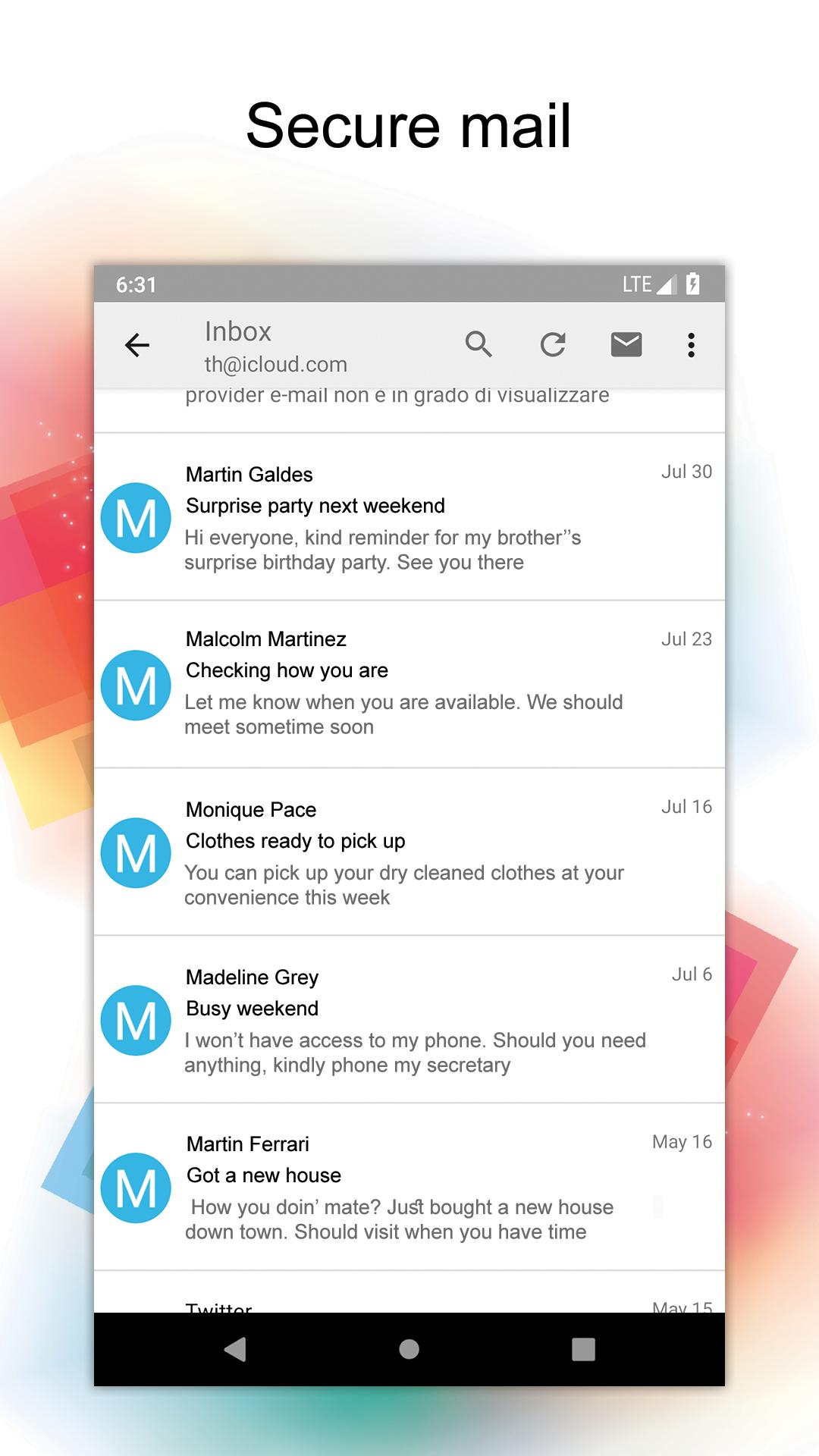 Sync for iCloud Mail for Android - APK Download
