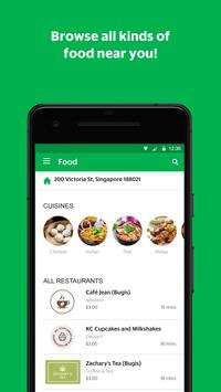 GrabFood screenshot 1