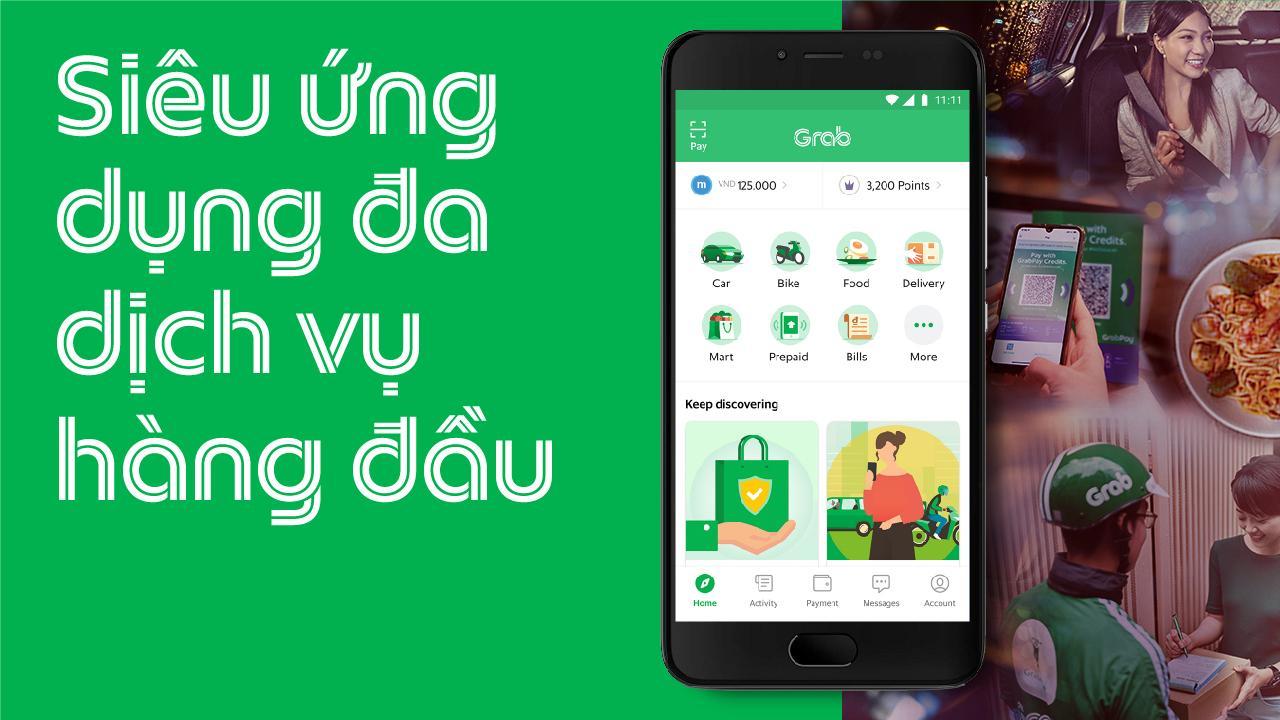 Grab cho Android - Tải về APK