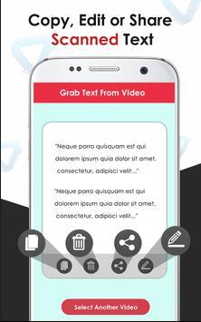 Video to Text Converter –  OCR Scanner screenshot 1