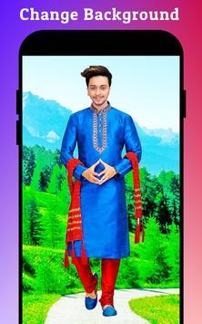 Men Sherwani Suit Photo Editor screenshot 3