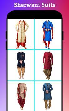Men Sherwani Suit Photo Editor screenshot 14
