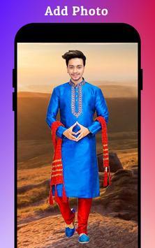 Men Sherwani Suit Photo Editor screenshot 1