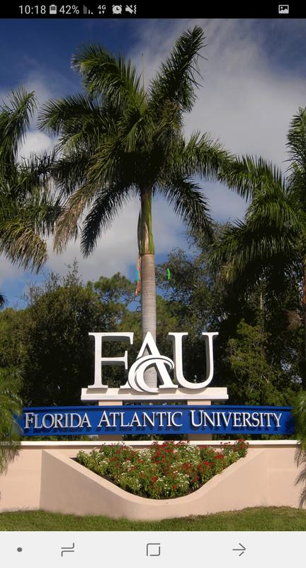 Florida Atlantic University poster