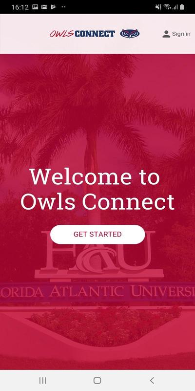 Florida Atlantic University screenshot 1