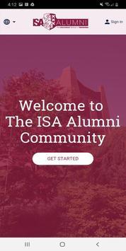 The ISA Alumni Community screenshot 1
