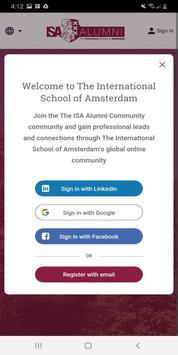 The ISA Alumni Community screenshot 2