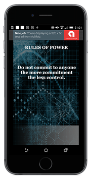 Rules Of Power screenshot 1