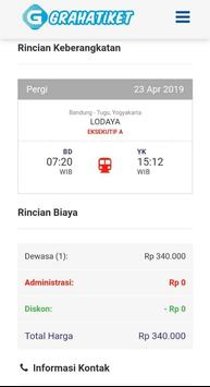 Graha Tiket Online screenshot 4
