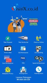 Visitix - Pusat Tiket Murah screenshot 3