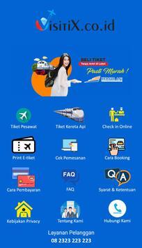 Visitix - Pusat Tiket Murah screenshot 1