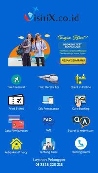 Visitix - Pusat Tiket Murah screenshot 2