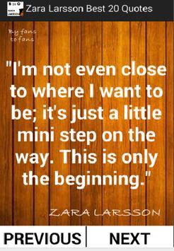 Zara Larsson Best 20 Quotes screenshot 2
