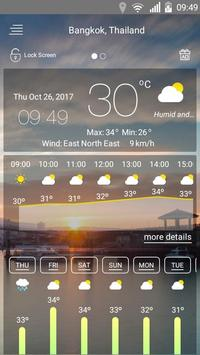 Clima captura de pantalla 2
