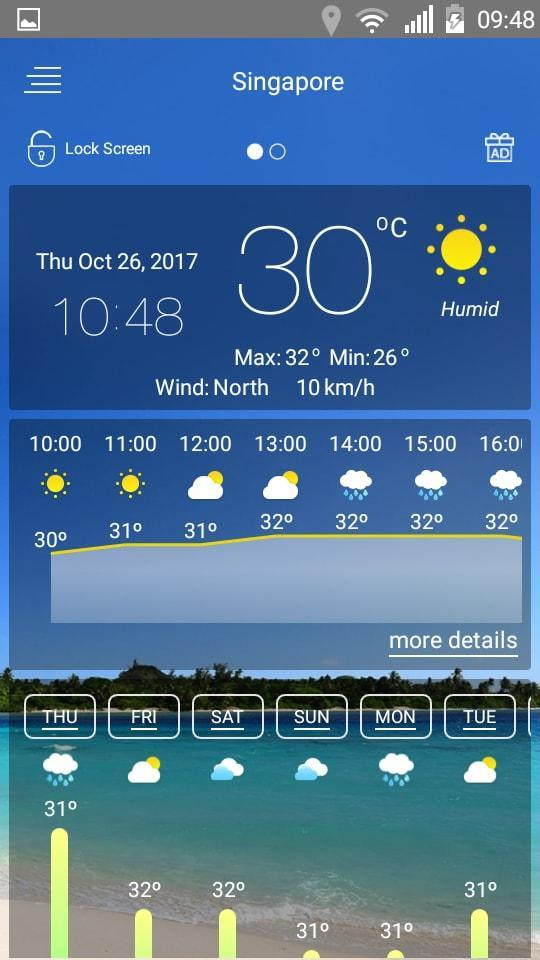 Weather forecast for Android - APK Download