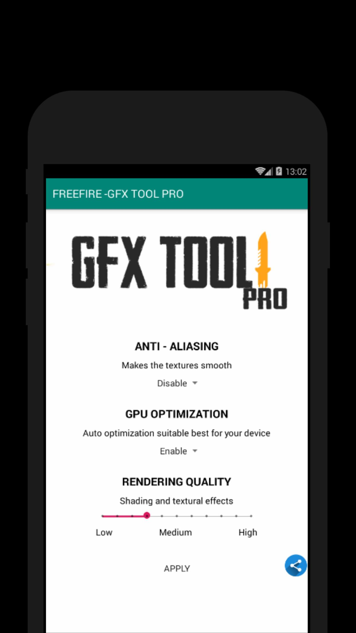 60 FPS Booster - GFX Tool PRO FOR FREE FIRE (FREE) for