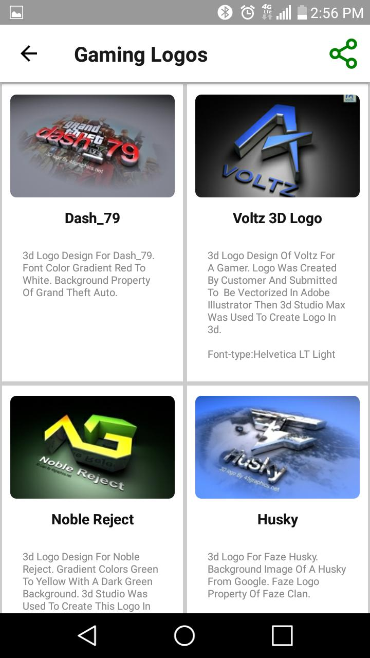 3D Logo Design Services for Android - APK Download