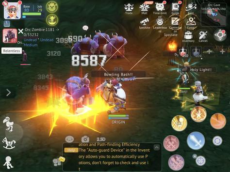 Ragnarok Origin: Fantasy Open World Online MMORPG screenshot 23
