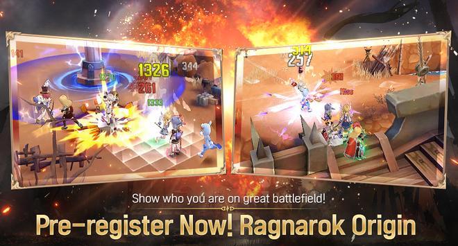 Ragnarok Origin: Fantasy Open World Online MMORPG screenshot 1
