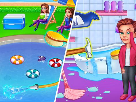 Resort Cleaning Housekeeping - Management Game screenshot 7