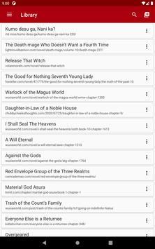 Webu - Web Novel Reader screenshot 13