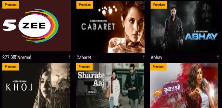 Guideline Zee5 TV Serial Movies Zee Tv Helper screenshot 2