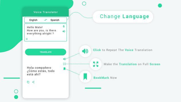 Universal  Translator Text and  Voice Translator screenshot 1
