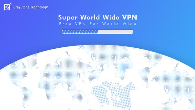 Super World Wide  xvpn: Vpn Master free poster