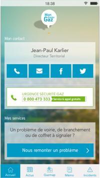 Mon Réseau Gaz screenshot 1