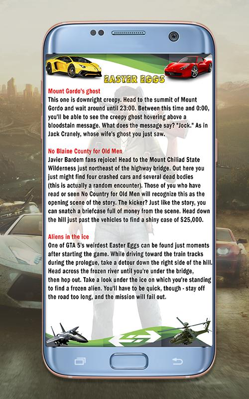 Cheats for GTA 5 for Android - APK Download