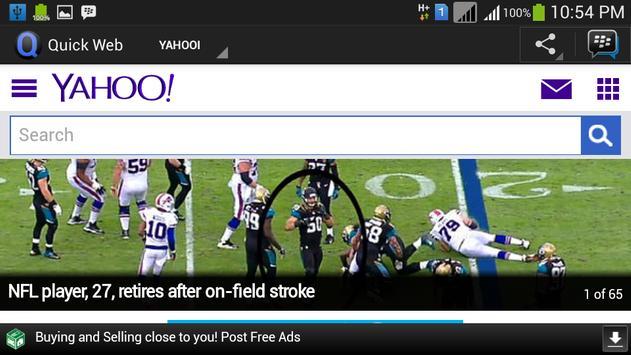 Quick Web screenshot 3
