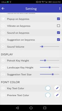 INSAFIANS Keyboard with Themes screenshot 4
