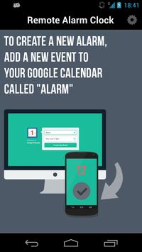 Remote Alarm Clock poster