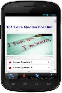 101 BEST LOVE QUOTES FOR HIM 2020 poster